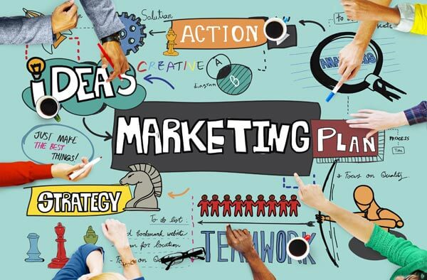 one page marketing plan