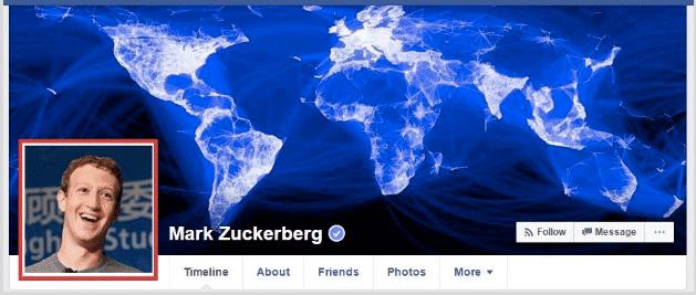 Facebook Image Sizes : Profile Picture