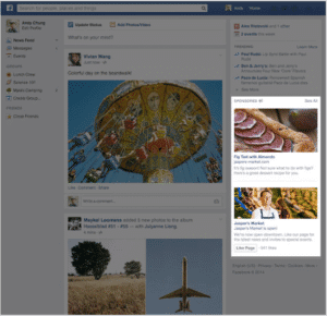 Facebook Image Sizes - Right Hand Column Advertising