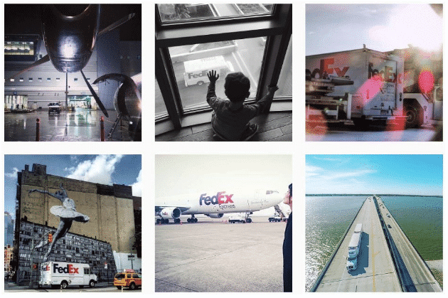 Instagram for business - FedEx Instagram