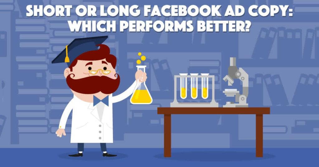 short or long facebook ad copy