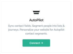 Connect Autopilot and ConvertFlow