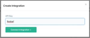 Enter Autopilot API key in ConvertFlow