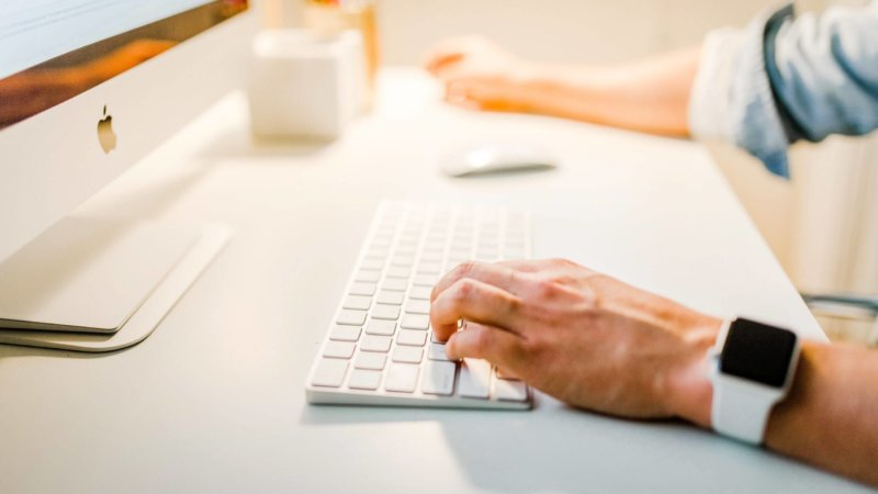 Keyboard and Computer