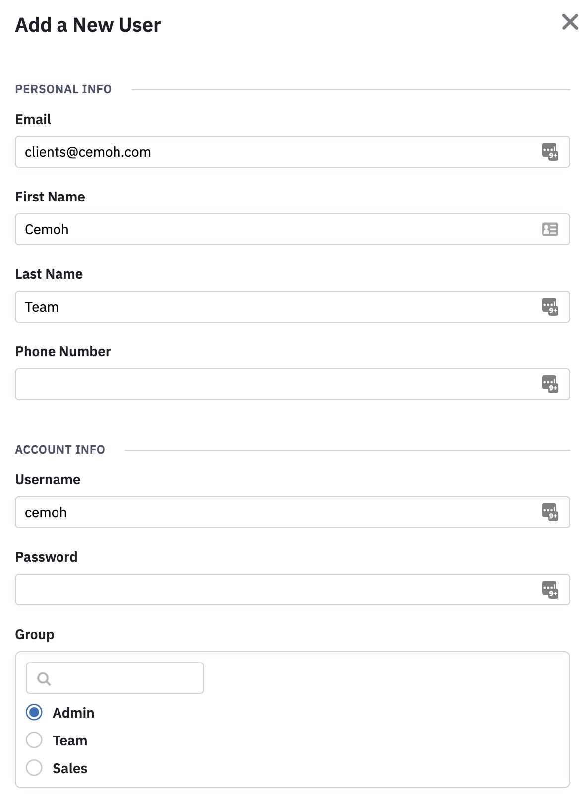 ActiveCampaign Add User