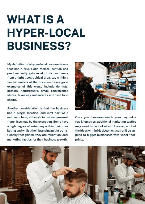 Cemoh marketing hyper-local eBook