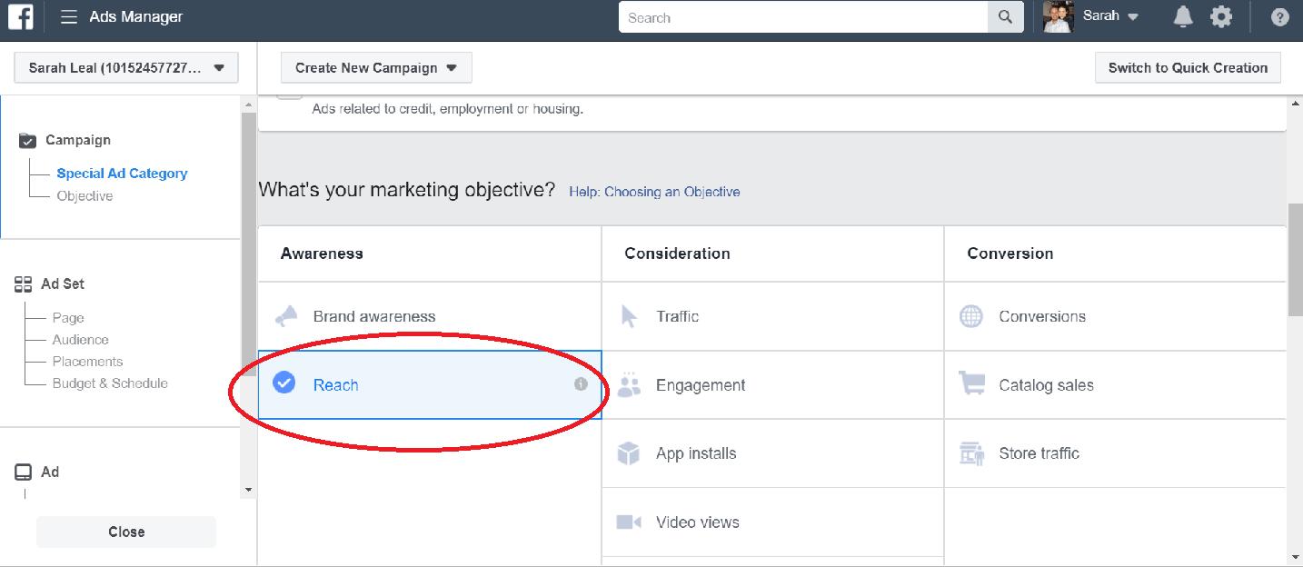 Facebook Phone Ads Reach