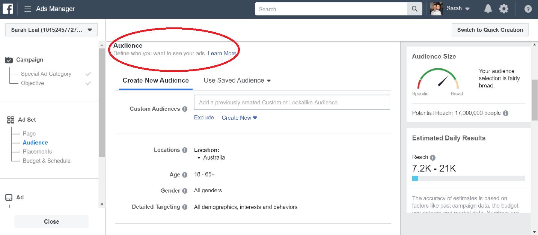 Facebook Phone Ads